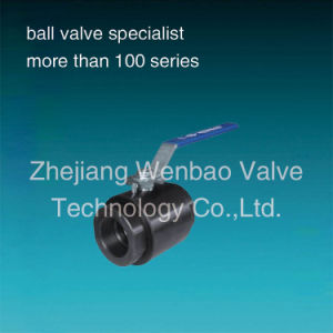2PC Forged Steel High Pressure Ball Valve 2000psi pictures & photos