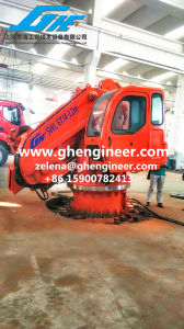 Telescopic Knuckle Boom Crane with Driving Cabin pictures & photos