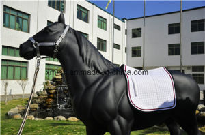 Horse Cotton Jumping Saddle Pads pictures & photos
