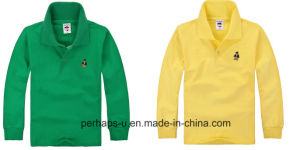 Customizable Childrens Polo Shirt with Print Logo pictures & photos