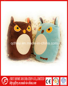Hot Sale Plush Owl Toy Cushon for Baby Gift