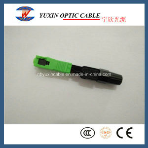Sc APC Fast Connector Used for FTTH Drop Cable