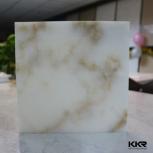 Artificial Stone Texture Acrylic Solid Surface for Bathroom Countertop pictures & photos