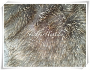 High Pile Jacquard Fake Fur pictures & photos