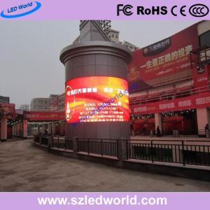 Rental Indoor/Outdoor LED Display Panel Circle Full Color (P3.91, P4.81, P5.95, P6.25) pictures & photos