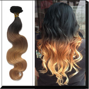 Stock Peruvian Virign Remy Hair Weft (Natural Wave) pictures & photos