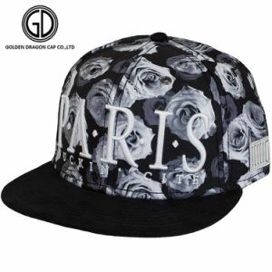 New Fashion Colorful Digital Printing Snapback Headwear Cap with Embroidery Badge Mesh Back pictures & photos