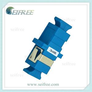 Sc/Upc Adaptor Type Female to Female Fiber Optic Attenuator pictures & photos