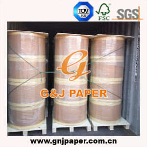 Natural White Thermal Paper in Jumbo Roll for Receipt Production pictures & photos