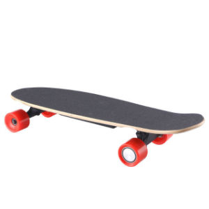Factory Supply Electric Four Wheels Long Standing Skateboard pictures & photos