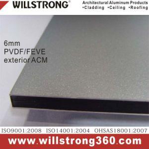 6mm Exterior PVDF or Feve Aluminum Composite Material Acm pictures & photos