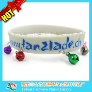 Custom Silicone Bracelet with Metal pictures & photos