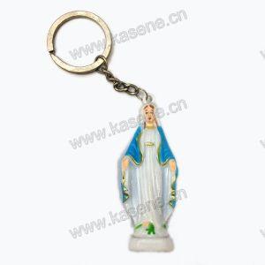 Religious Luminous Statue Keychain, Catholic Miraculous Keychain