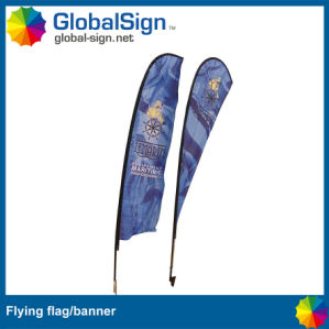 Sublimation Printed Polyester Beach Flags (Style A) pictures & photos
