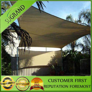 Garden Beige Color Triangle Sun Shade Sail pictures & photos