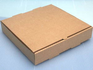 Simple Brown Color Corrugated Paper Cardbaord Pizza Boxes pictures & photos