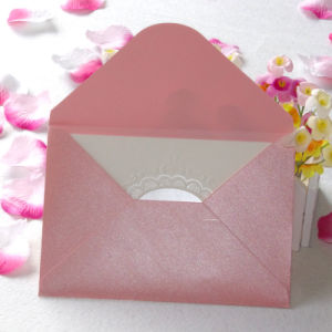 Wholesale Colorful Craft Paper Envelope with Custom Printing pictures & photos