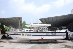 10.8 Meters FRP Boat High Speed Patrol Boat Outboards Good Quallity Fuel -Efficent pictures & photos