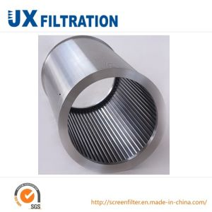 Stainless Steel Wedge Wire Cylindrical Screen Pipe pictures & photos