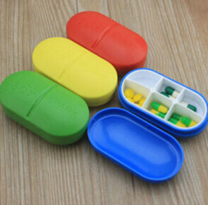 New Style Plastic Pill Box with Custom Logo pictures & photos