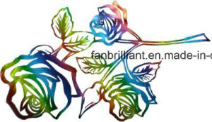 Laser Foil Heat Transfer Sticker with Many Color pictures & photos