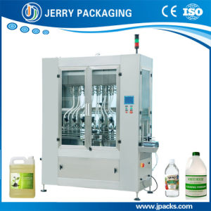Automatic Time Gravity Water & Flammable Liquid Bottling Bottle Filler Factory pictures & photos