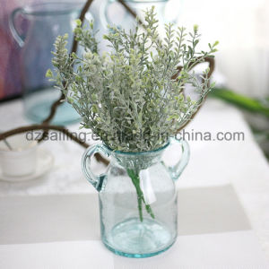 Plastic Leaves Aritificial Flower for Wedding/Home/Garden Decoration (SF16293A)