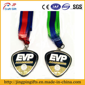 2016 Wholesale Custom Sport/Basketball/Volleyball/Coin/Badge Medal with Ribbon pictures & photos