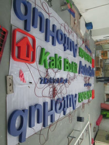 Shop Commercial LED Acrylic Channel Letters Sign pictures & photos
