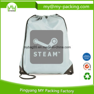Promotional Folding Picnic Sports Drawstring Bags pictures & photos