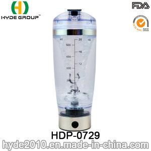 600ml BPA Free Plastic Vortex Shake Bottle, Portable Plastic Electric Protein Shaker Bottle (HDP-0729) pictures & photos