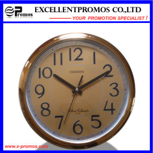 12inch 30diameter Logo Printing Round Plastic Wall Clock (EP-Item12B) pictures & photos