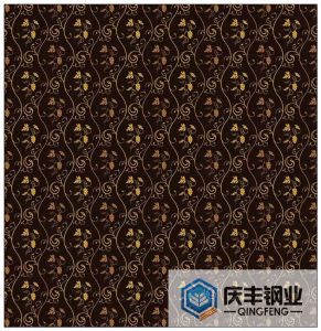 Wallpaper Decorative Patterns Color Stainless Steel Sheet (FC004)