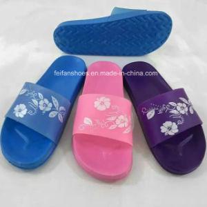 Fashion Print Flowers Girls Shoes Children EVA Bath Slipper (HK-15004-2) pictures & photos