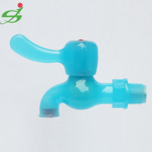 Plastic Water Tap with Translucent Color pictures & photos