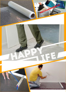 PE Adhesive Protection Film for Automobile Carpet pictures & photos