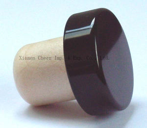 Synthetic Cork and Aluminium Combined T Bottle Stopper (PS009-18) pictures & photos