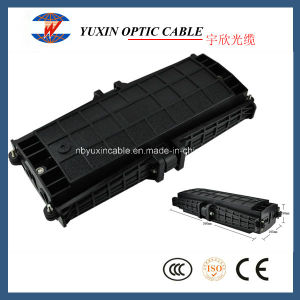 2 in 2 out Horizontal Waterproof Fiber Optic Splice Closure From China Factory