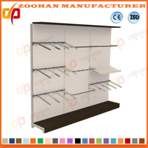 Single Side Supermarket Display Shelf Witn Hooks (Zhs648) pictures & photos
