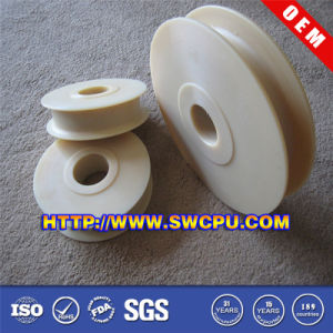 OEM Manufacture Plastic Roller Bearing Gear Pulley (SWCPU-P-G550) pictures & photos