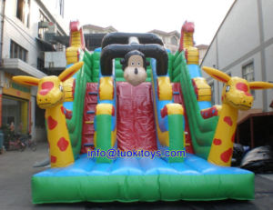 0.55m PVC Inflatable Slide Made of 18 Oz PVC Tarpaulin (A564) pictures & photos
