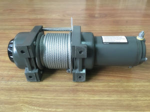 3500lbs Small Anchor Electric Winch with Wire Rope pictures & photos