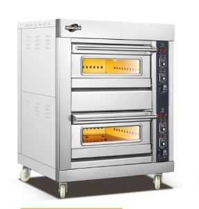 Double Layer Gas Oven with Instrument (202QI) pictures & photos