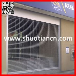 Industrial Grille Type Roller Shutter/Gate Shutter (ST-002) pictures & photos
