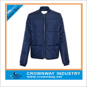 Warm Lightweight Zipper Short Padded Jackets for Women pictures & photos