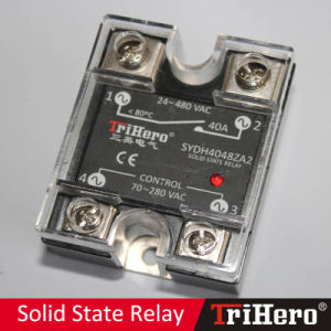 40A AC/AC Single Phase Solid State Relay SSR pictures & photos