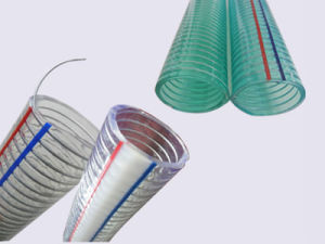 PVC Spiral Steel Wire Reinforced Pipe pictures & photos