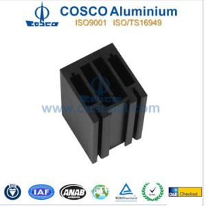 Powder Coating Aluminum Profile Extrusion for Building Material with CNC Machining pictures & photos