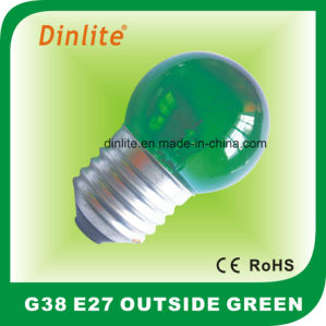 10W 15W Colorful Incandescent Globe Bulb pictures & photos