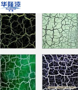 Hualong Green Crackle Texture Paint for Furniture Decoration pictures & photos